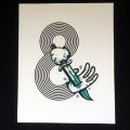 Nick McPherson(ニック・マクファーソン) &Stab シルクスクリーンポスター