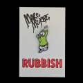 Marc McKee x Rubbish Rubbish(マーク・マッキー) Liberty ピンズ