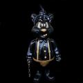 Frank Kozik x BlackBook Toy:A Clockwork Carrot Dim 11インチフィギュア Thug Life Edition