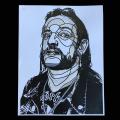 David Flores(デイビッド・フローレス) Lemmy(レミー) ポスター(Hand Embellished)