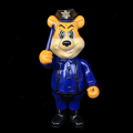 Frank Kozik x BlackBook Toy:A Clockwork Carrot Dim 11インチフィギュア Dirty Officer Edition