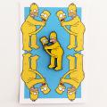 Wizard Skull x Stupid Krap:Toon Boner Homer ピンズ