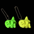 Monster Farm/Chop Twin Head resin key holder