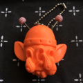 Monster Farm/Chop Space Monster resin key holder