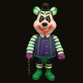 Frank Kozik x BlackBook Toy:A Clockwork Carrot MC CYCO Supervillain Dim