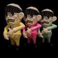 Suicidal Tendencies x BlackBook Toy(スイサイダル・テンデンシーズ) SKUM-kun 10インチフィギュア Acid Marble 2nd