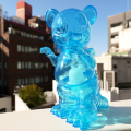 Ron English x BlackBook Toy( ロン・イングリッシュ) Mousezilla Hologram with BL GID mini