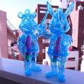 Frank Kozik x BlackBook Toy:A Clockwork Carrot Hologram Lil Alex, Dim(not a set)