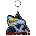 Hajime Sorayama:Sexy Robot 01 Acrylic Key Chain