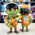 Suicidal Tendencies x BlackBook Toy:SKUM-kun Melon Marble Monster