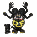 Magical Mosh Misfits x BlackBook Toy:Asura Rat Fink GOLDxBKxMatte BK