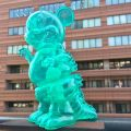 Ron English x BlackBook Toy( ロン・イングリッシュ) Mousezilla Emerald with GR GID mini