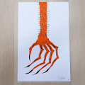 NECKFACE:HAND!!! Screen Print