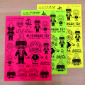 Suicidal Tendencies:PUNK ROCK BOY&BABY screen printed sticker sheet