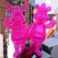 Frank Kozik x BlackBook Toy:Lil Alex, Dim Clear Neon PK(not a set)