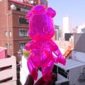 Frank Kozik x BlackBook Toy:Piggums Neon PK
