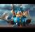 Ron English( ロン・イングリッシュ) Cap'n Cornstarch(キャプテン・コーンスターチ) 9インチフィギュア