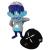 Suicidal Tendencies x BlackBook Toy(スイサイダル・テンデンシーズ) SKUM-kun 10インチフィギュア Cyco Blue