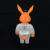 Frank Kozik x BlackBook Toy:A Clockwork Carrot Lil Alex 11インチフィギュア Break In Edition