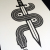 Nick McPherson(ニック・マクファーソン) Mini Snake シルクスクリーンポスター
