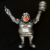 Ron English x BlackBook Toy( ロン・イングリッシュ) EVIL MC 16インチフィギュア Diamond Dust Edition