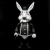 Frank Kozik x BlackBook Toy:A Clockwork Carrot Lil Alex 11インチフィギュア Grayscale Edition