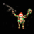 Ron English x BlackBook Toy(ロン・イングリッシュ):EVIL MC 16インチフィギュア Camo Edition