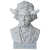 D*Face(ディー・フェイス):Beethoven Bust Up statue 15""