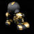 David Flores x HellFire Canyon Club x BlackBook Toy:Kiss My Ass Stay Gold edition