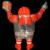 Ron English x BlackBook Toy(ロン・イングリッシュ):EVIL MC 16インチフィギュア Stealth Edition