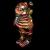 Ron English x BlackBook Toy( ロン・イングリッシュ) Big Boner(ビッグボーナー) 8インチフィギュア Autumn Stealth Camo