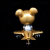 Ron English x BlackBook Toy( ロン・イングリッシュ) Mousemask Murphy in Airplane Bangkok Gold edition