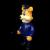 Frank Kozik x BlackBook Toy:A Clockwork Carrot Dim 11インチフィギュア Dirty Officer Edition