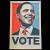 OBEY/Shepard Fairey(オベイ) Barack Obama Vote オフセットポスター