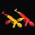 Ron English x BlackBook Toy( ロン・イングリッシュ):EVIL MC 16インチフィギュア OG edition
