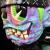 Suicidal Tendencies x BlackBook Toy(スイサイダル・テンデンシーズ) SKUM-kun 10インチフィギュア Marbled Devil edition