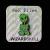 Wizard Skull:Bondage Alien pin