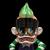 Suicidal Tendencies x BlackBook Toy(スイサイダル・テンデンシーズ) SKUM-kun 10インチフィギュア MC Cyco Villain edition