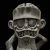 Suicidal Tendencies x BlackBook Toy(スイサイダル・テンデンシーズ) SKUM-kun 10インチフィギュア Sludge edition