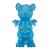 Ron English x BlackBook Toy( ロン・イングリッシュ) Mousezilla Hologram with BL GID mini