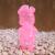 Frank Kozik x BlackBook Toy:Piggums Sakura Clear