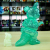 Ron English x BlackBook Toy( ロン・イングリッシュ) Mousezilla Emerald with GR GID mini