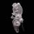 Frank Kozik x BlackBook Toy:Piggums Stealth