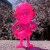 Suicidal Tendencies x BlackBook Toy:SKUM-kun Clear Neon PK