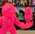 MISHKA x Lamour Supreme:KONG with Warhead Clear Neon PK