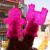 MISHKA x Lamour Supreme:KONG, Beast finger puppet Clear Neon PK(not a set)