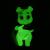 Frank Kozik x BlackBook Toy:Franken Piggums(GID)