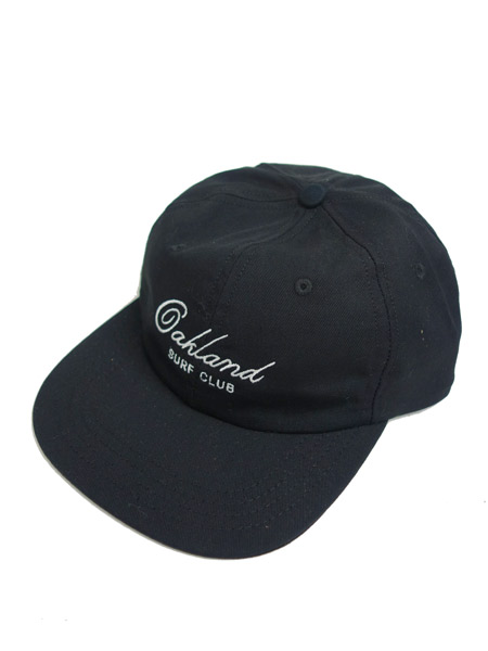 OAKLAND SURF CLUB WEBER HAT BLACK