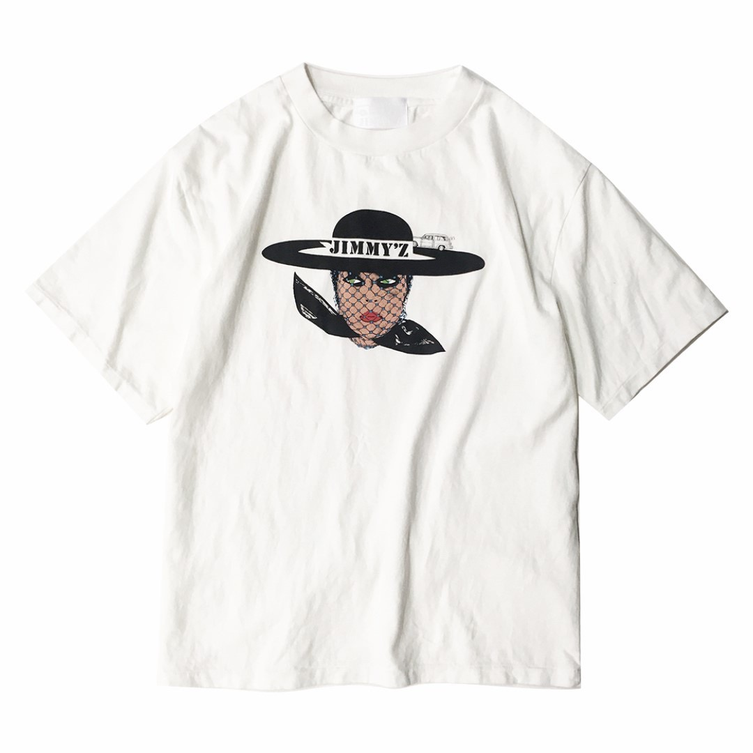JIMMY'Z VEILED LADY TEE WHITE