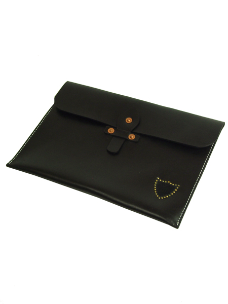 HTC BLACK DOCUMENT CASE SHIELD BLACK×BRASS
